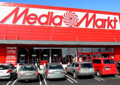 LPR Vehicle Access Control: Mediamarkt Logistic Area
